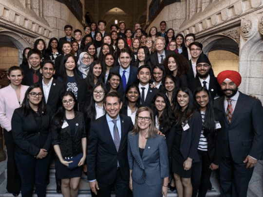 Visit with Prime Minister Justin Trudeau